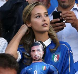 サッカーイタリア代表FWペッレの...