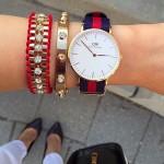 石原さとみさんが月9ドラマ「5→9」で着用している衣装の腕時計は新鋭ブランド「ダニエル・ウェリントン」