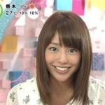黒すぎる美人女子アナ、岡副麻希は桐谷美玲に似ている?腹黒い?彼氏は?冬は白い?など情報をまとめてみました!